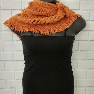 Rust Color Infinity Scarf
